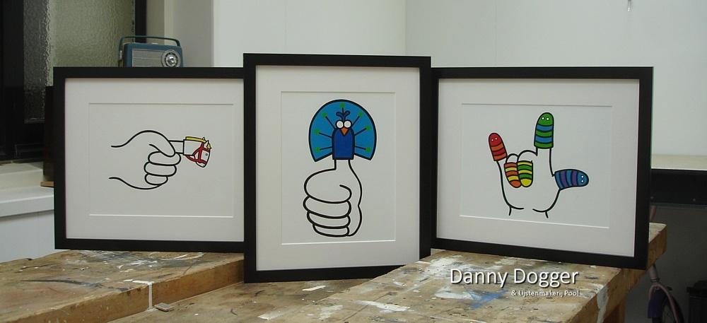 Schilderijen Danny Dogger
