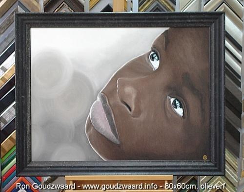 Schilderij Ron Goudzwaard