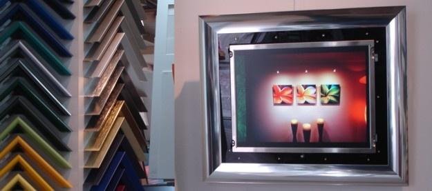 Uw digitale fotolijst of flatscreen ingelijst...