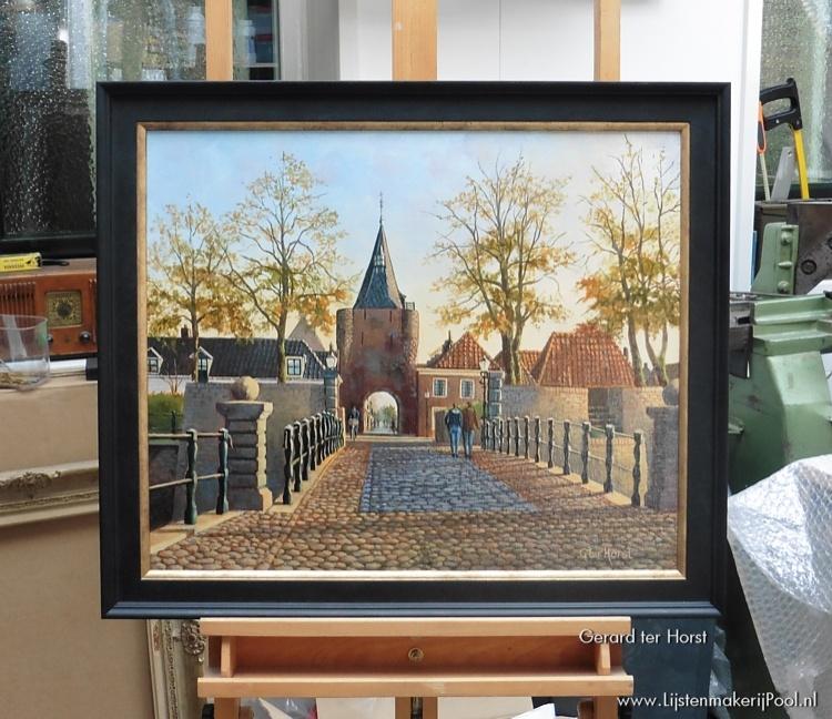 Schilderij Gerard ter Horst ingelijst door Lijstenmakerij Pool