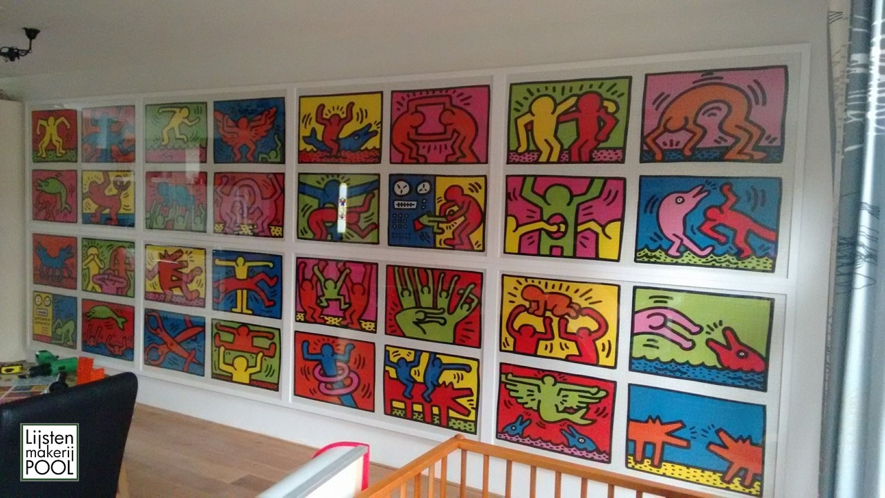 """Project """"Keith Haring"""""""