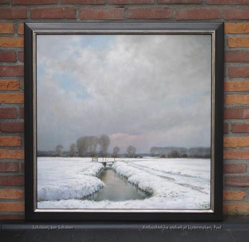 Schilderij Jan Scholten