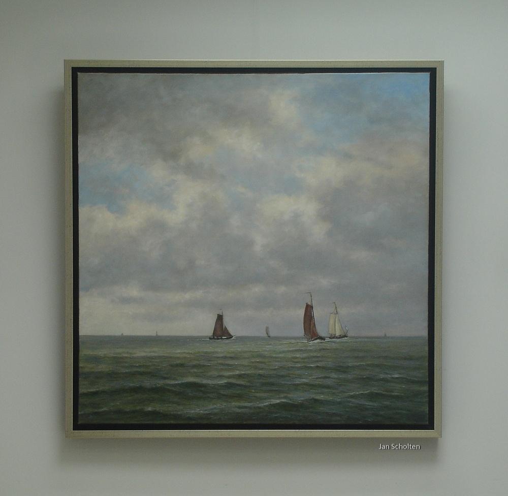 Zicht op IJsselmeer