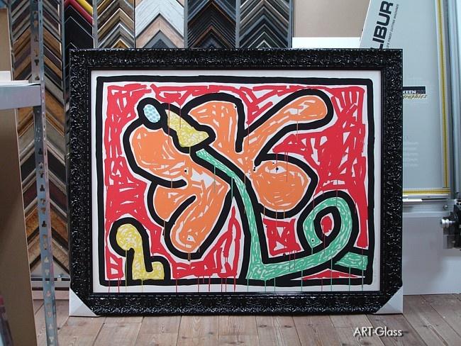 Zeefdruk Keith Haring
