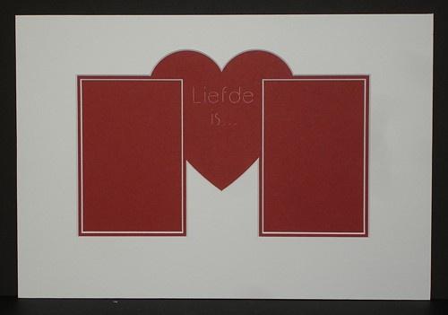 Passe-partout Liefde is...