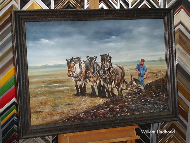 Robuuste lijst bij robuuste paarden
